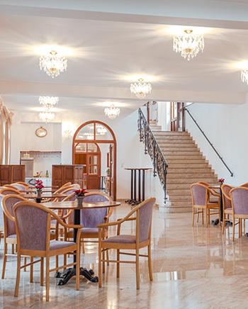 Banquet hall and bar