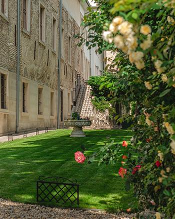 Summer garden and terraces